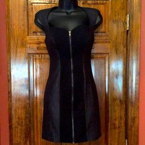NWT GUESS Two Tone Black Dress